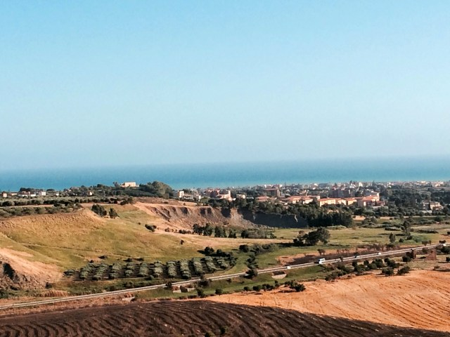 The Sicilian countryside