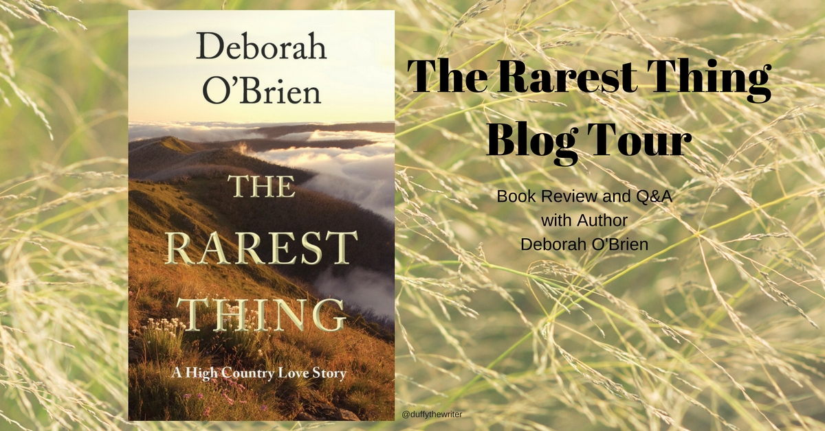 The Rarest Thing- Q&A with Author Deborah O'Brien