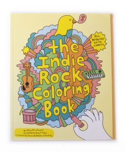 Indie Rock Coloring Book by Andy J Miller
