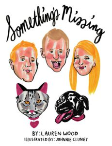 Somethings Missing, a kids book illustrated by Johnnie Cluney