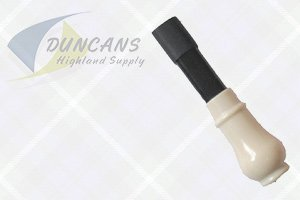 bagpipes, Airstream Mouthpiece Only with Imitation Ivory Bulb
