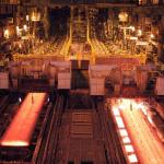 Pabrik baru milik PT Krakatau Osaka Steel (KOS) di Cilegon, Banten, mulai berproduksi.