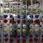 Kapasitas produksi serat rayon nasional saat ini mencapai 600.000 ton.