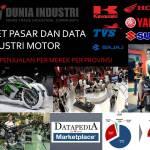 Riset Pasar dan Data Industri Sepeda Motor (Tren Penjualan Merek Per Daerah)