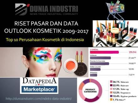 "<span itemprop=""name"">Riset Pasar dan Data Outlook Kosmetik 2009-2017 (Top 10 Perusahaan Kosmetik di Indonesia)</span>"