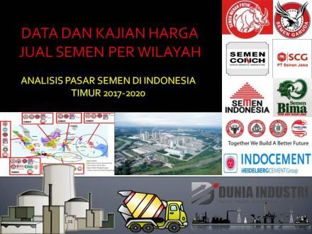 """<span itemprop=""""name"""">Data dan Kajian Harga Jual Semen Per Wilayah (Analisis Pasar Semen di Indonesia Timur 2017-2020)</span>"""