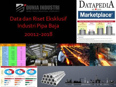 "<span itemprop=""name"">Data dan Riset Eksklusif Industri Pipa Baja 2012-2018 (Demand Trends dan Market Leader)</span>"