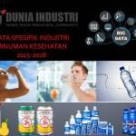 Data Spesifik Industri Minuman Kesehatan 2015-2018
