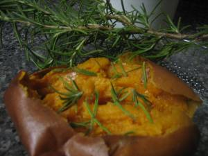Sweet Potato & Rosemary