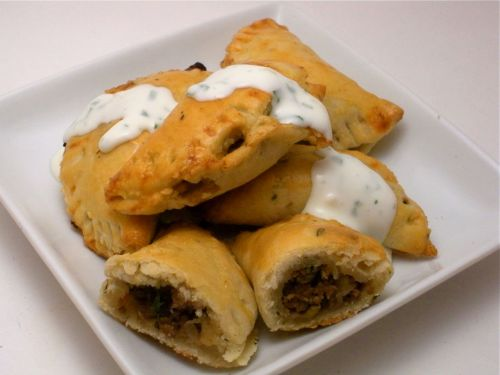 Beef &amp; Raisin Empanada-Duo Dishes