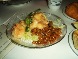 Honey shrimp-Duo Dishes