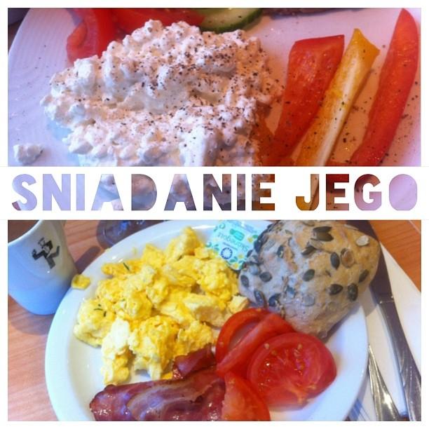 Śniadanie na promie Stena LIne