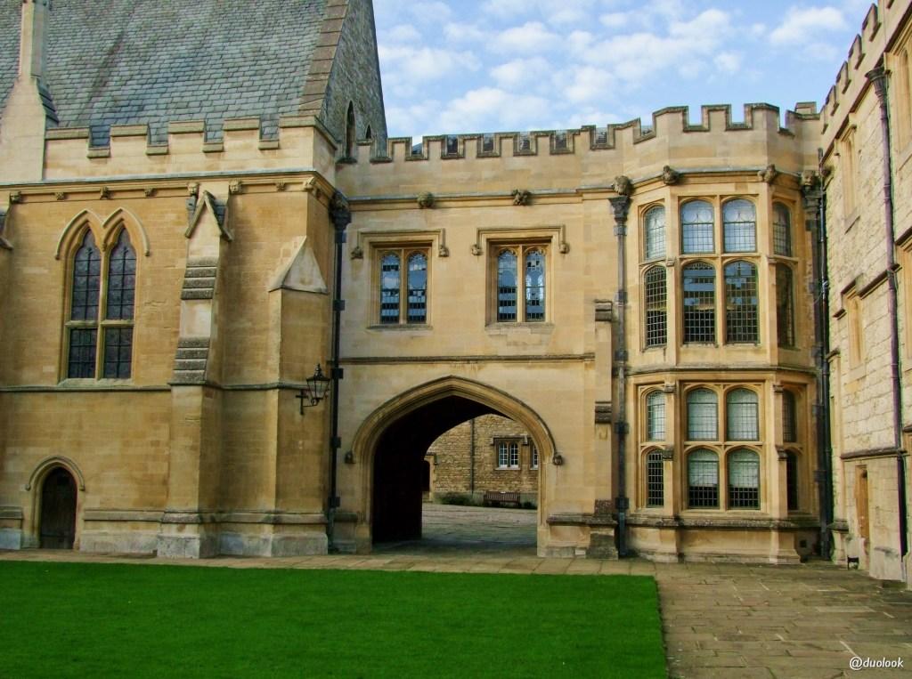 merton college architektura w oksfordzie