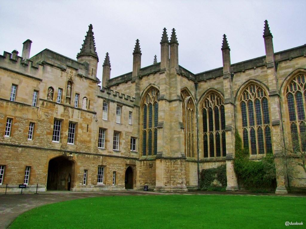 new college oksford architektura anglii gotyk