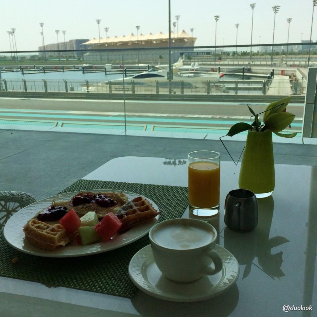 bufet śniadaniowy hotel abu dhabi