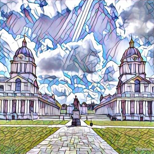 Old Naval College w Greenwich atrakcje londynu