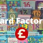 Zakupy w Londynie – Card Factory