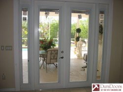Small Of French Doors With Blinds