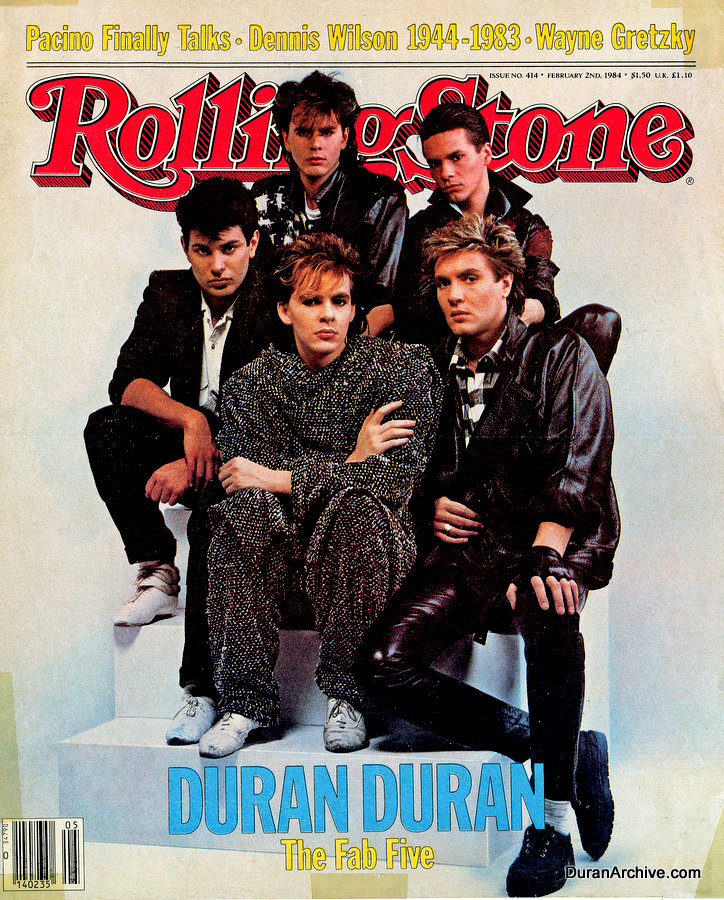 DD on the cover of Rolling Stone (1984)