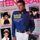 Simon on Teen Beat cover (1984)