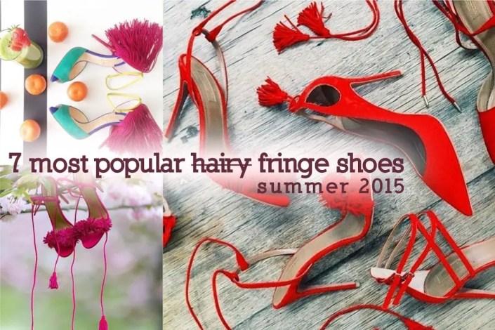 7 Most Popular Fringe Summer Shoes 2015