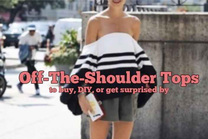 Sexy Trend For Summer 2015: Off-The-Shoulder Tops To Buy, DIY, Or Get Surprised By