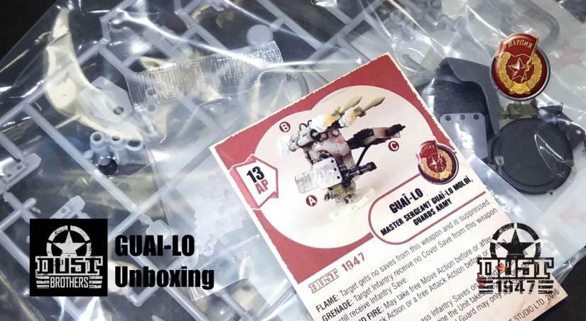 Guai-Lo unboxing - Steel Guards Hero Unassembled Version / Wersja do składania