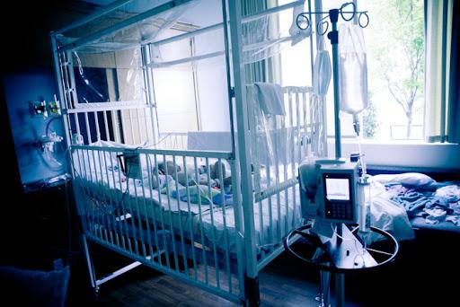 A story of faith: Ethan's hospital bed