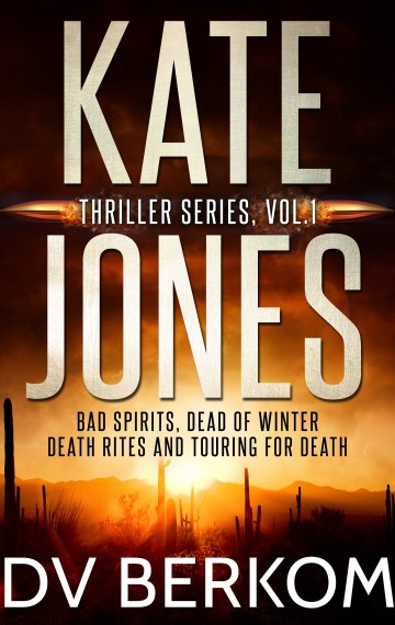 Cover for Kate Jones Thrillers Vol 1 Box Set