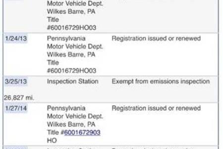 Pa Motor Vehicle Registration Renewal Free Professional Resume