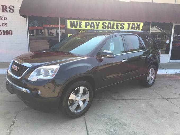 2012 GMC Acadia SLT 1 In Hope AR   BRAMLETT MOTORS 2012 GMC Acadia for sale at BRAMLETT MOTORS in Hope AR