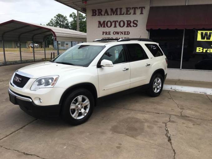 2009 GMC Acadia SLT 1 In Hope AR   BRAMLETT MOTORS 2009 GMC Acadia for sale at BRAMLETT MOTORS in Hope AR