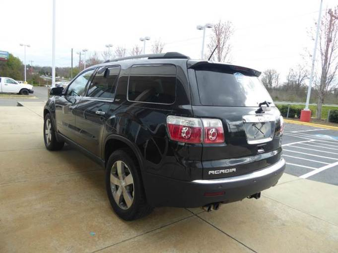 2011 Gmc Acadia SLT 2 4dr SUV In Monroe NC   Charlotte Auto Group Inc SOLD