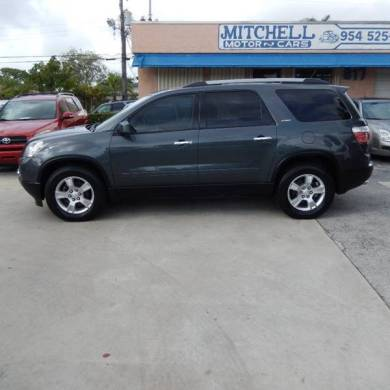 2011 Gmc Acadia SLE 4dr SUV In Fort Lauderdale FL   MITCHELL MOTOR CARS 2011 GMC Acadia SLE 4dr SUV   Fort Lauderdale FL