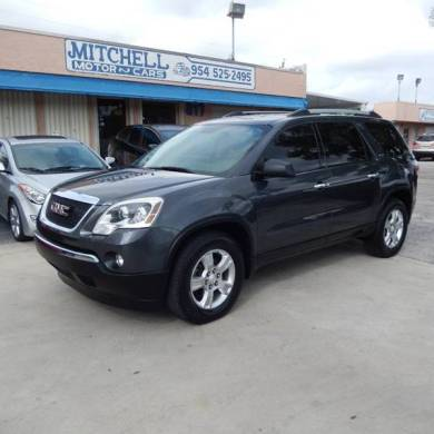 2011 Gmc Acadia SLE 4dr SUV In Fort Lauderdale FL   MITCHELL MOTOR CARS Contact