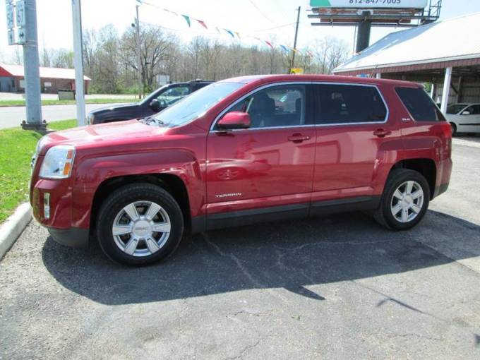 2013 GMC Terrain SLE 1 In Switz City IN   Duncan Cars 2013 GMC Terrain for sale at Duncan Cars in Switz City IN