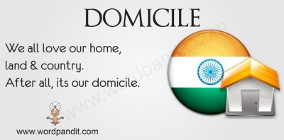 Meaning of Domicile