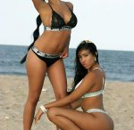 Jeny Romero and Sophia Marie - courtesy of Yohance DeLoatch and Artistic Curves