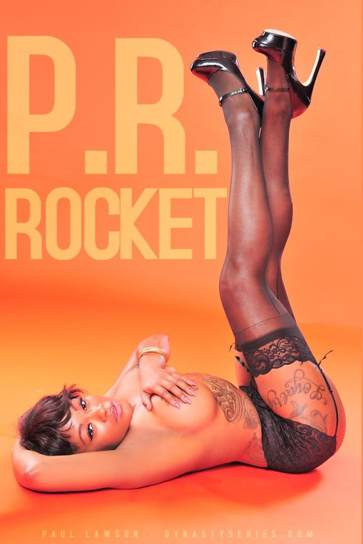 P.R. Rocket: Sexy In Stockings - courtesy of Paul Lawson