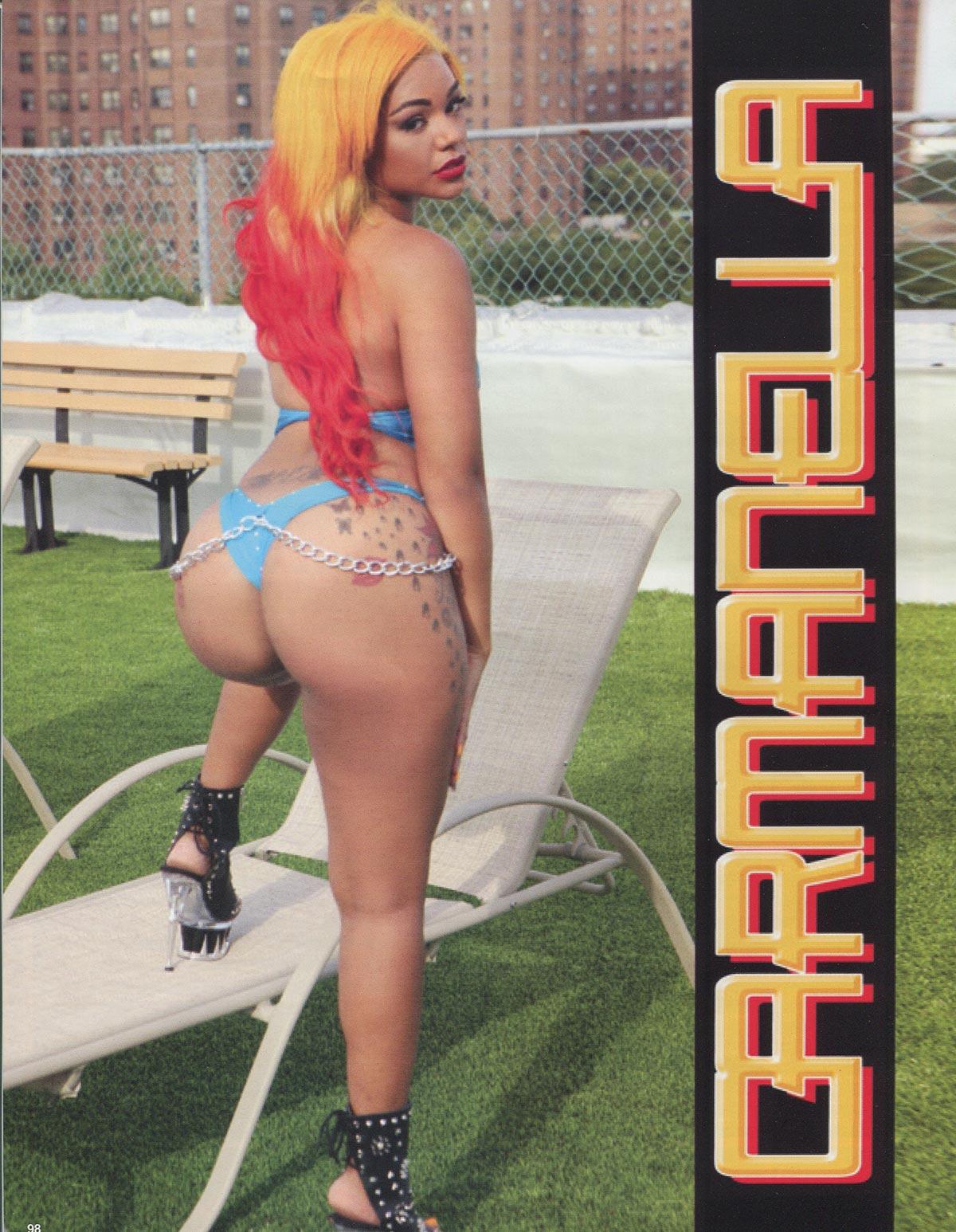 Carmenella @Carmenellas_World in Straight Stuntin Issue 34