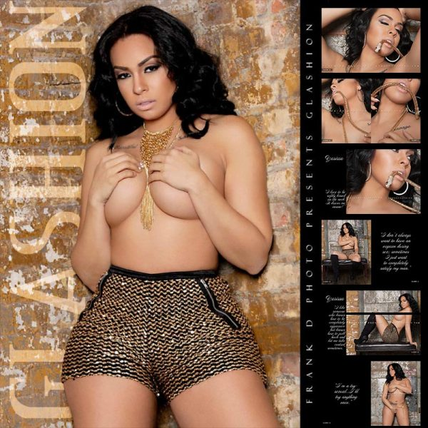 Yarissa G @yarissa_g: Glashion Magazine Previews Part 2 - Frank D Photo