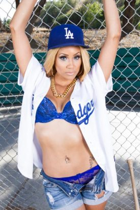 Lauren Allure @lauren_allure: Dodgers Fan For Life Mr. Stamps - IBMM