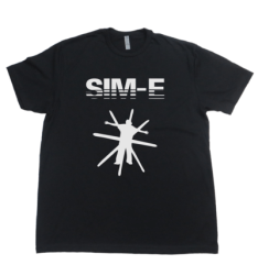 SIM-CITY T-SHIRT [BLACK]