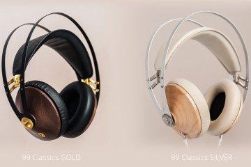 99 Classics Headphones in Gold and Silver
