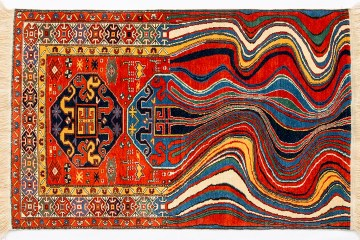 Faig Ahmed's  modern interpretations of traditional carpet design -02