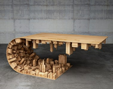 Inception - 3D Printed coffee table by Stelios Mousarris - 01