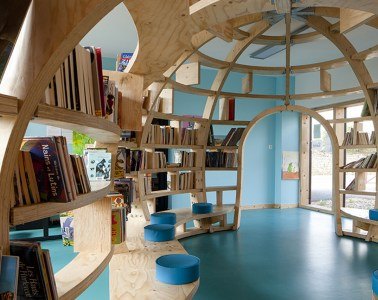 Le Ble en Herbe Scool in France by Designer Matali Crasset - 01