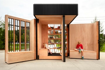 Story Pod - Miniature Library in the suburb of Toronto - 04