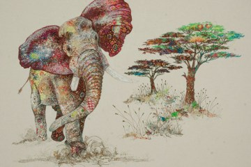 textile-collage-african-wildlife-sophie-standing-09