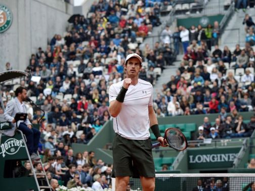 Andy Murray: Looking forward to clash with local favourite